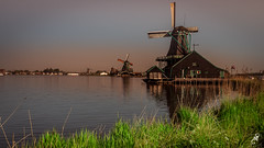 Winds of Change.. (sssnanal) Tags: people ©shriphotography marken amsterdam lonelyplanet windmill village farm volendam ngc landscapes landmark landscape panasonic lumix gx9 travel travelphotography travelpics travelgram tradition river sky