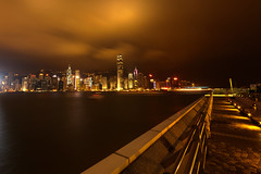 Can you find my boat? (dickson_yung) Tags: sea hong kong victoria harbour building night nightview