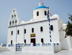 Santorini again... (Yaoluca) Tags: santorini blu church canon1300d canon holiday travel greece
