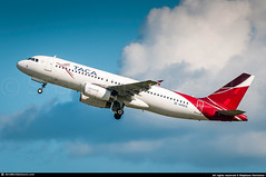[HAV.2017] #TACA #Avianca.Central.America #TA #TAI #Airbus #A320 #N499TA #awp (CHRISTELER / AeroWorldpictures Team) Tags: taca international airlines el salvador airbus a320233 msn cn 3510 eng iae v2527ea5 reg n499ta history aircraft first flight test fwwbx built site toulouse lfbo france delivered tacainternationalairlines ta tai leased aercap cabin config c12y138 tsf aviancacentralamerica a320 south america nikon d300s plane aircrafts airplane planespotting havana airport cuba nikkor 70300vr awp lightroom aeroworldpictures chr 2017