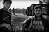 Members of the Golden Division who fought against ISIS in Mosul (rvjak) Tags: irak iraq d750 nikon black white noir blanc bw portrait soldiers soldats war guerre middleeast moyenorient weapons armes