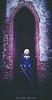 Fate/Stay night - Dark Saber cosplay (Riccardo Trevisan) Tags: fate staynight darksaber cosplay cosplayer girl violet excalibur darkdress fatestaynight architecture walls dark sword wig