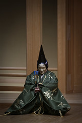 百万 - Hyakuman (小川 Ogawasan) Tags: japan japon noh theatre drama unesco nohstage nô 能