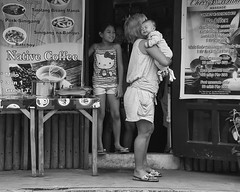 Shush (Beegee49) Tags: street food cafe mother children holding crying baby bacolod city philippines