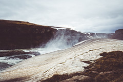 The earth is whispering (lu★) Tags: iceland nature water waterfalls outdoor pattern scenic