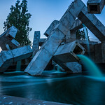 Longue exposure fontain - San Francisco - 1 thumbnail