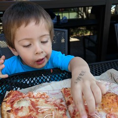 June 10: Eating Pizza