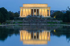 """Lincoln Memorial (Jeremy Thomas Photography) Tags: lincolnmemorial lincoln memorial washington dc washingtondc nationalmall outdoor outdoors history america reflect reflection beautiful pretty gorgeous stunning amazing whoa wow cool light lights lighting color colors colorful sony alpha mirrorless """"a7r mark iii"""" """"sony a7r hd high def definition raw lightroom 3 full frame digital exposure prime fixed ef 135mm 135 l f20 usm lens bokeh dof quality fijizzle sharp portrait telephoto fov"""