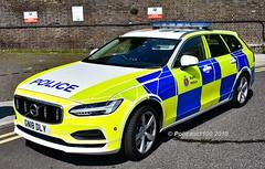 Kent Police Volvo V90 AWD GN18 DLY TD18 (policest1100) Tags: kent police volvo v90 awd gn18 dly td18