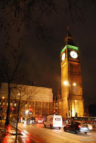 Парламент і Біг Бен Лондон вночі InterNetri United Kingdom 0446