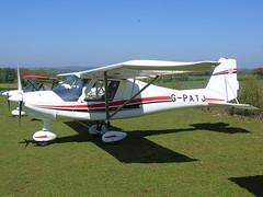 G-PATJ Ikarus C42 FB80 (c/n 1509-7421) Popham (andrewt242) Tags: gpatj ikarus c42 fb80 cn 15097421 popham