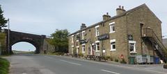 Station Inn at Ribblehead (andreboeni) Tags: yorkshire dales nationalpark northyorkshire pub inn station railway railroad settlecarlisle arch road