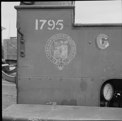All that remains of the GNR! (National Library of Ireland on The Commons) Tags: jamespo'dea o'deaphotographiccollection nationallibraryofireland gnr greatnorthernrailway crest engine loco railways ireland 1795 too merryweather logo greatnorthernrailwayireland gnri gauge inchicore inchicoreworks firetender