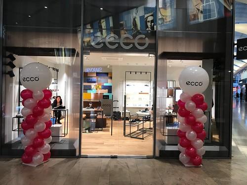 Ballonpilaar Breed Rond Ecco Alexandrium Rotterdam
