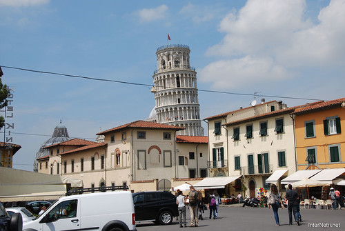 Пізанська вежа, Піза, Італія InterNetri Italy 193