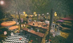 Tea Time (eloen.marie) Tags: eloensotherworld decor enchantment plastik chezmoi pukerainbows moonsha madpea raindale disorderly sorumin lagom naminoke bananan beedesigns static hextraordinary thelittlebranch serenitystyle alice wonderland