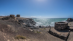 Castillo el Toston (DC P) Tags: castillo el toston fuerteventura cotillo tower castle coast sea port canary island islands adventure a7rii canon explore fantastic haven landscape ngc outdoor outside pov panorama rock serene travel view village water wideangle wide world waterfront wave waves seaside seascape boat boats ocean sky bay beach fisheye