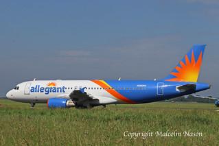 A320 N260NV ex HZ-AS13 ALLEGIANT
