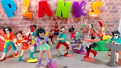The Rockity Rollers! - Bijou Planks 155/365 (MayorPaprika) Tags: lgv20 lgvs995 mini figs figure paprihaven pvc miniature smallscale figurine theater diorama toy story scene custom bricks bijouplanks plastic cutie rockityrollers