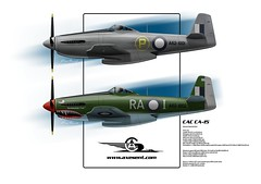 CAC CA-15 (AXESENT - kanseigazou) Tags: cac commonwealthaircraftcorporation ca15 aircraft australia ww2 prototype axesent kanseigazou aviationart aviation aussie victoria posters prints axe cyez fighter cackangaroo raaf royalaustralianairforce 40s paint markings colouring roundel