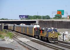 CN 401 (Michael Berry Railfan) Tags: es44ac crex1522 cn2864 cn401 cn canadiannational montreal montrealsub montrealwest quebec train freighttrain crex citirail