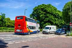 You'd rather a Scania, wouldn't you! (mangopearuk) Tags: uk unitedkingdom england hampshire bus buses publictransport transit stagecoach stagecoachsouth stagecoachinthesouthdowns stagecoachhampshire portsmouth southsea havant adl alexanderdennis