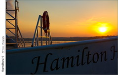 Hamilton H (jwvraets) Tags: ship boat cruiseship hamiltonharbourqueen sunset hamilton harbour pier8 burlingtonbay dusk cottagecountry muskoka opensource rawtherapee gimp nikon d7100 afsnikkor18105mmvr