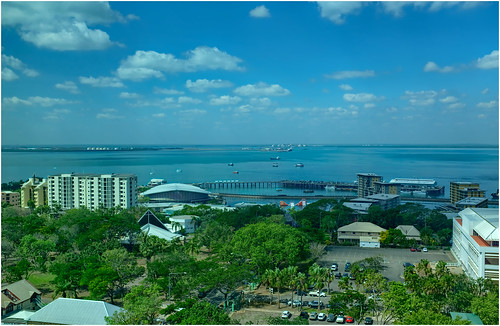 Darwin Harbour Mid-Winter Afternoon - 32C and 60% humidity with a 10 knot nor-wester seabreeze - almost perfection