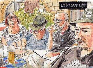 Bar Le Provence (Place des Augustins, Aix-en-Provence)