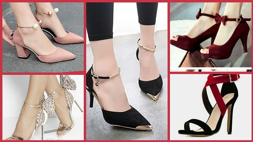 605b794ac58 Latest High Heel Designs For Girls  Beautiful Stylish Sandals Collection  2018