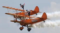 Duxford_May2018_Wingwalkers_09 (andys1616) Tags: aerosuperbatics wingwalkers boeing stearman duxfordairfestival duxford cambridgeshire may 2018