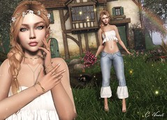 Peace! (carol.newall) Tags: meva avaway truth lode titans insol amias country flowers bouquet peace secondlife mesh bento thechapterfour fameshed rewind equal10 alme beautiful beauty