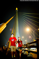 Rama VIII Bridge Bangkok Thailand Wedding Photography (NET-Photography | Thailand Photographer) Tags: 2012 50mm 50mmf14 6400 ramaviiisuspensionbridge bangkok bangkokweddingphotographer bangkokweddingphotography bkk camera couple d3s engagementsession f14 iso iso6400 love netphotographer netphotography nikon prewedding prenup prenuptial rama8bridge ramaviiibridge th tha thailand thailandweddingphotographer thailandweddingphotography wedding photographer photography professional service documentary honeymoon session best postwedding asia asian destination popular thai local
