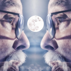 Duplicitous Moon (superdavebrem77) Tags: composite fantasy selenology moon mirror
