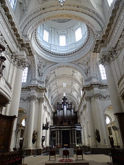 organo interior Catedral de San Albino Cathédrale Saint-Aubain Namur Belgica 01 (Rafael Gomez - http://micamara.es) Tags: organo interior catedral de san albino cathédrale saintaubain namur belgica valonia bélgica
