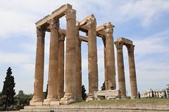 Temple of Zeus (Allan Jones Photographer) Tags: temple templeofzeus athens greece history classical columns marble travel allanjonesphotographer canon5div canonef24105mmf4lisiiusm