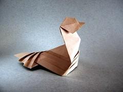 Pajarillo - Viviane Berty (Rui.Roda) Tags: origami papiroflexia papierfalten little bird petit oiseau pajarillo viviane berty