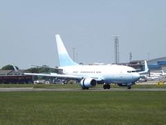 VP-BVV Boeing 737-73U(BBJ) Private (Aircaft @ Gloucestershire Airport By James) Tags: luton airport vpbvv boeing 737 73ubbj private bizjet eggw james lloyds