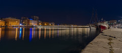 Zadar at night (rockheadz) Tags: zadar night bridge water citylights nightshoot landscape