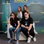 Jury junior Films de fin d'études/Graduation Films Junior Jury: Anna Graziani, Caterina Costantini, Camille Szostek, Elena Denoue thumbnail