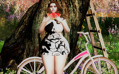 Bike Ride Break. 0192 (gwendolyn beverly) Tags: spon sl secondlife maddict froufrouevent bellezafreya catwa catya boldbeauty amarabeauty bramble playposes mystictimbers