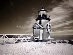 2018.04.28-10.41.26 (Pak T) Tags: nantucket island infrared ir 750nm lighthouse beach daffodil festival wreath nationalregisterofhistoricplaces brantpointlight sand panasoniclumixg14mmf25iiasph lumixg14f25ii