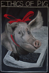 8th Grade: L/A; Short stories; Ethics of Pig, O'Henry (ArneKaiser) Tags: 8thgrade edited ethicsofpig mrkaisersclass waldorf waldorfjourney chalk chalkboard chalkdrawings