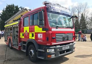 Hertfordshire Fire & Rescue Longfield Pump