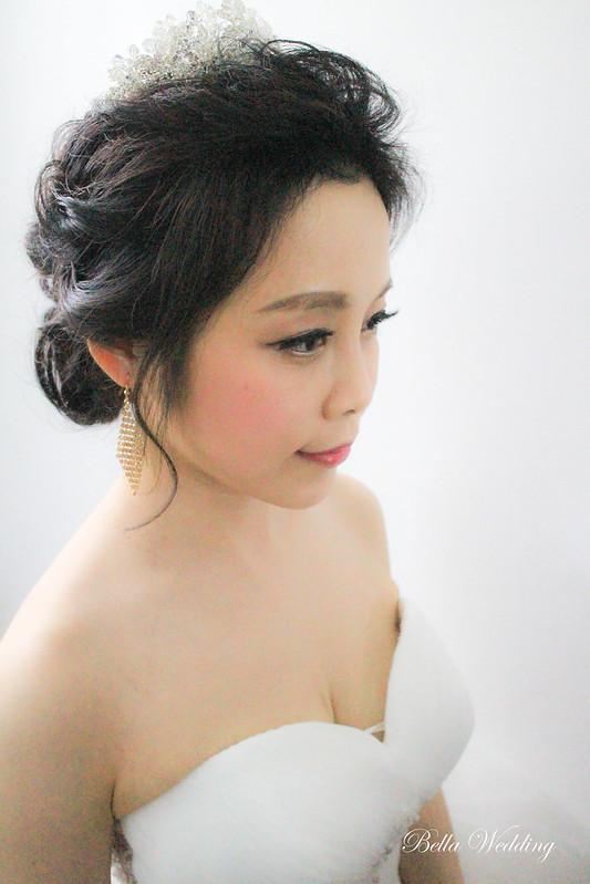 嘉義新秘,新娘秘書,新秘,一葉日本料理餐廳,韓風典雅白紗造型,仙仙浪漫敬酒造型