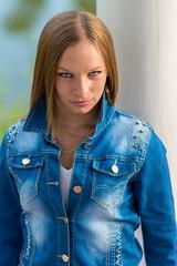 Mónika (kapopsx) Tags: portré portrait people emberek mónika monica eye girl beautiful