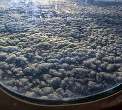 Cloud education (Robyn Hooz (away)) Tags: nuvole clouds aereo finestrino window seat travel airplane aircraft cielo up maredinuvole seaofclouds atmosfera