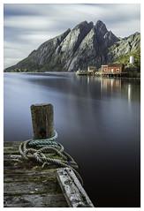 Fishing Harbour (P_Hibon) Tags: lofoten noorwegen norway sund haven langesluitertijd longexposure oldestfishingcommunity port vissershaven