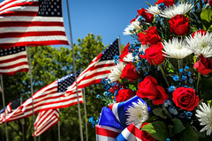 Memorial Day (Abel AP) Tags: flags americanflags flowers redwhiteandblue holiday memorialday americanholiday rememberance sanjose california usa sanfranciscobayarea northerncalifornia patriotic patriotism honor abelalcantarphotography america american americanism
