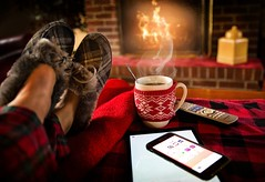Breakfast - Credit to http://homedust.com/ (Homedust) Tags: adult beverage breakfast celebration coffee cold comfortable cozy cup drink family fireplace flame food home hot house indoors leisure lifestyle mug people person relax relaxation relaxing resting seat shoes smartphone smoke table tea technology winter